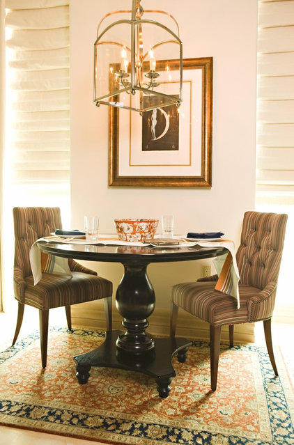 Traditional Dining Room by Michael Fullen Design Group