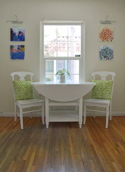 Fancy Eclectic Dining Room by Sarah Greenman