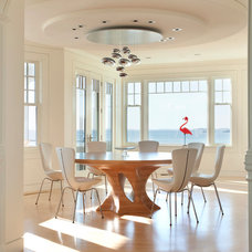 contemporary dining room by Siemasko + Verbridge