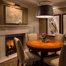 Traditional Dining Room by Heffel Balagno Design Consultants