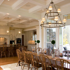 Traditional Dining Room by Beyond Ordinary Boundaries Architecture