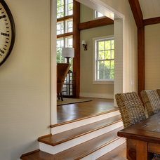 Traditional Dining Room by Yankee Barn Homes