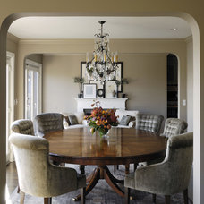 Traditional Dining Room by GR Home/Graciela Rutkowski Interiors