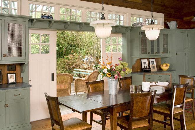 Traditional Dining Room by Sandra Lindsay Design