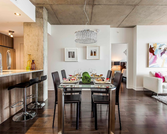 urban dining tables   houzz