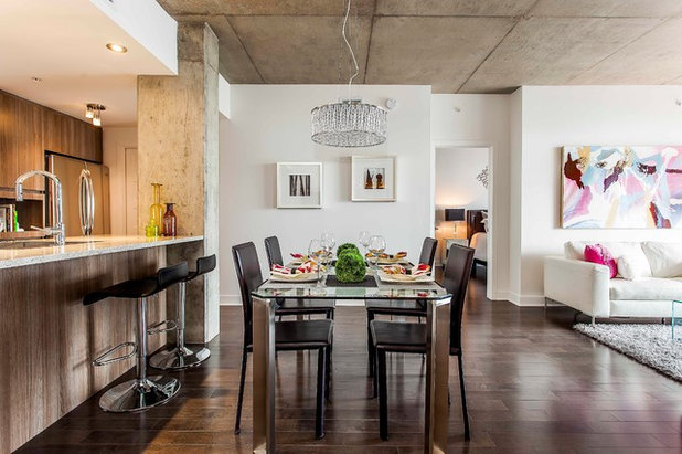 Contemporary Dining Room by Unique Home Solutions Inc.