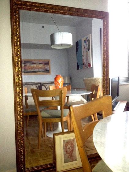 Modern Dining Room by Lawrence Karol