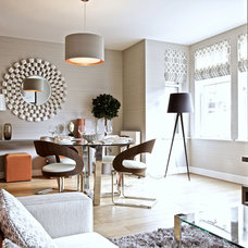 Contemporary Dining Room by The Couture Rooms