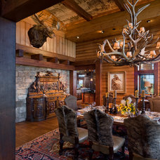 Traditional Dining Room by Dianne Davant and Associates