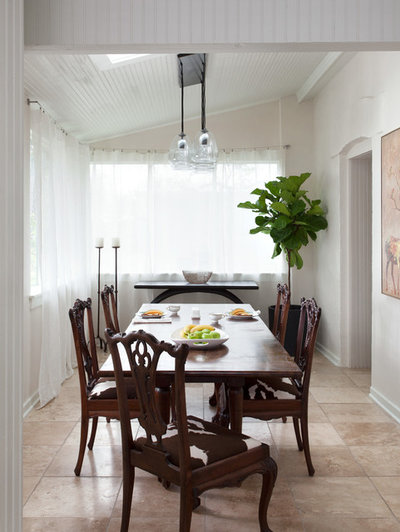 Farmhouse Dining Room by J.Fisher Interiors