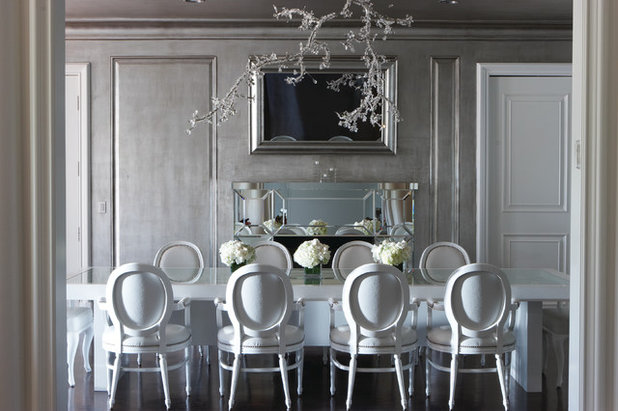 Contemporary Dining Room by Aly Daly Design