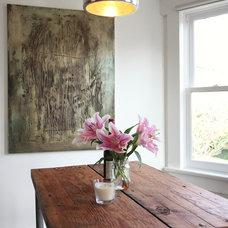 Eclectic Dining Room by Megan Buchanan