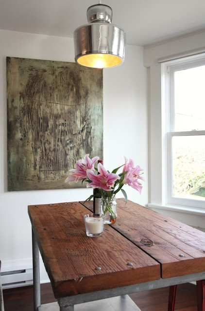 Eclectic Dining Room by Megan Buchanan