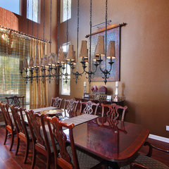 eclectic dining room by Elizabeth Leahy, AKBD, Allied ASID