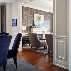 Contemporary Dining Room by Robyn Clarke + Co