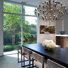 Modern Dining Room by R Brant Design