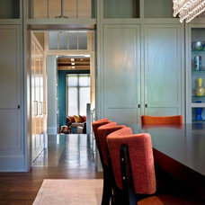 Eclectic Dining Room by McCann Associates Inc.