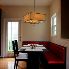 Traditional Dining Room by Synergy Design & Construction