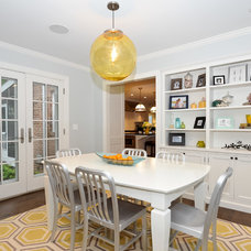 Traditional Dining Room by Staging North Shore