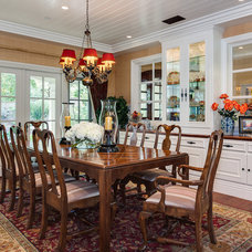 Traditional Dining Room by Catherine Monaghan