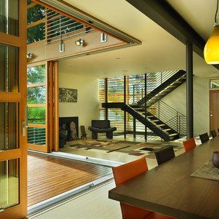 Неиссякаемый источник вдохновения для домашнего уюта: столовая в современном стиле