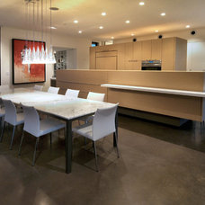 Contemporary Dining Room by Process Design Build, L.L.C.