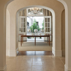 Traditional Dining Room by Symmetry Architects