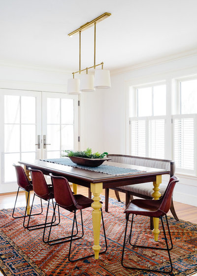 Traditional Dining Room by Twelve Chairs