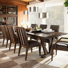Contemporary Dining Room by Barbara Schaver @ Furnitureland South