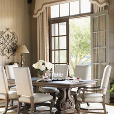 Traditional Dining Room by BARBARA SCHAVER DESIGNS