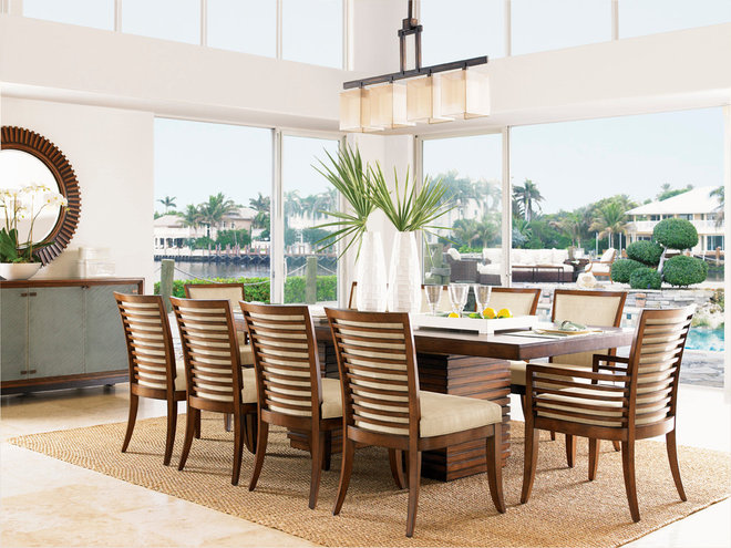 Tropical Dining Room by Barbara Schaver @ Furnitureland South