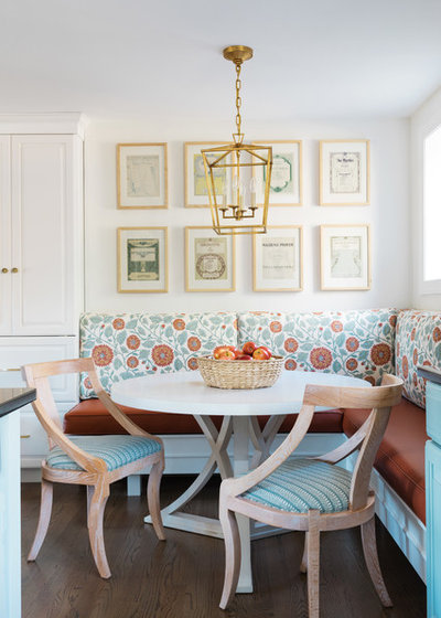Transitional Dining Room by Twelve Chairs