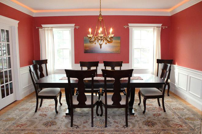 dining room chair rail