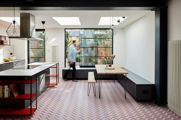 Scandinavian Dining Room by Eckford Chong Design