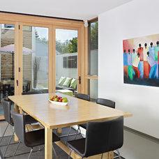 Modern Dining Room by Richlyn Custom Homes