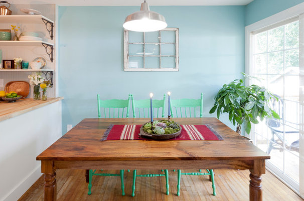 Eclectic Dining Room by Brunelleschi Construction
