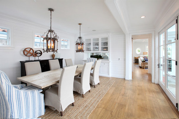 Rustic Dining Room by Blackband Design