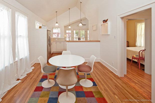 Beach Style Dining Room by Loop Design