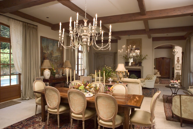Traditional Dining Room by Jack Arnold Companies