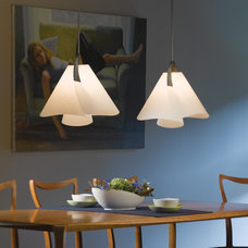 Traditional Dining Room by Hubbardton Forge