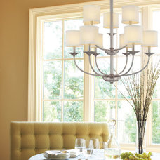 Mediterranean Dining Room by Illuminations