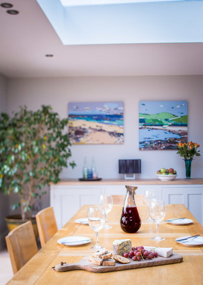 Contemporary Dining Room by Sustainable Kitchens