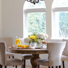 traditional dining room by A.S.D. Interiors - Shirry Dolgin, Owner