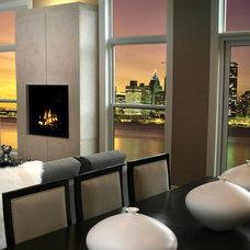 Contemporary Dining Room by Dekko Concrete Decor