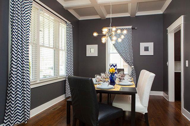 Craftsman Dining Room by Pfeffer Torode Architecture