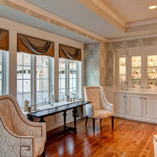 Eclectic Dining Room by Farinelli Construction Inc