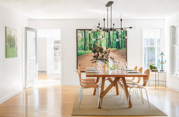 Contemporary Dining Room by Bunker Workshop