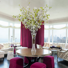 Contemporary Dining Room by Anthony Michael Interior Design, Ltd.