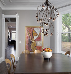 contemporary dining room by SPACE Architects + Planners