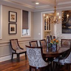 Transitional Dining Room by Randy Heller Pure and Simple Interior Design